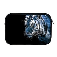 Ghost Tiger  Apple Macbook Pro 17  Zipper Case by Brittlevirginclothing