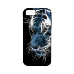 Ghost Tiger Apple Iphone 5 Classic Hardshell Case (pc+silicone) by Brittlevirginclothing