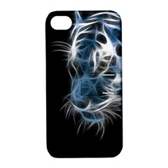 Ghost Tiger Apple Iphone 4/4s Hardshell Case With Stand by Brittlevirginclothing