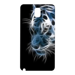 Ghost Tiger Samsung Galaxy Note 3 N9005 Hardshell Back Case by Brittlevirginclothing