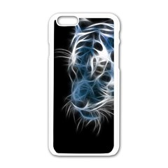 Ghost Tiger Apple Iphone 6/6s White Enamel Case by Brittlevirginclothing