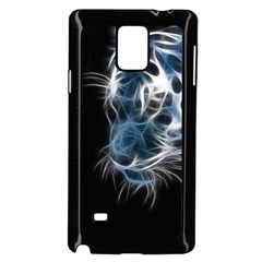 Ghost Tiger Samsung Galaxy Note 4 Case (black) by Brittlevirginclothing