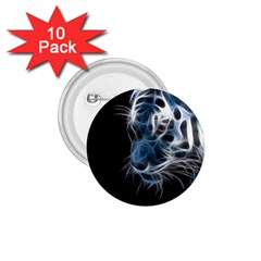 Ghost Tiger 1 75  Buttons (10 Pack) by Brittlevirginclothing