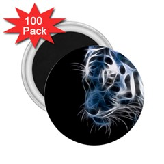 Ghost Tiger 2 25  Magnets (100 Pack)  by Brittlevirginclothing