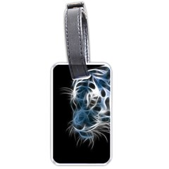 Ghost Tiger Luggage Tags (one Side)  by Brittlevirginclothing
