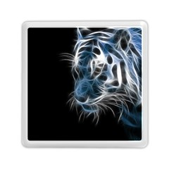 Ghost Tiger Memory Card Reader (square)  by Brittlevirginclothing