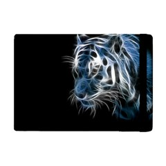 Ghost Tiger Apple Ipad Mini Flip Case by Brittlevirginclothing