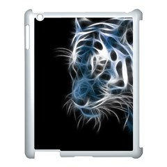 Ghost Tiger Apple Ipad 3/4 Case (white) by Brittlevirginclothing