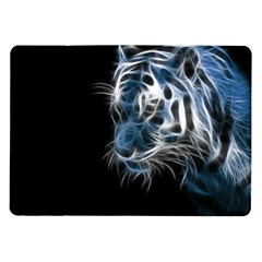 Ghost Tiger Samsung Galaxy Tab 10 1  P7500 Flip Case by Brittlevirginclothing