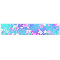 Colorful Pastel  Flowers Flano Scarf (large) by Brittlevirginclothing