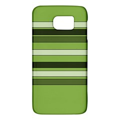 Greenery Stripes Pattern Horizontal Stripe Shades Of Spring Green Galaxy S6
