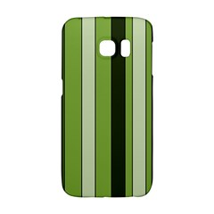 Greenery Stripes Pattern 8000 Vertical Stripe Shades Of Spring Green Color Galaxy S6 Edge