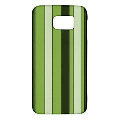 Greenery Stripes Pattern 8000 Vertical Stripe Shades Of Spring Green Color Galaxy S6 by yoursparklingshop