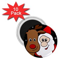 Xmas Selfie 1 75  Magnets (10 Pack)  by Valentinaart