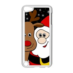Xmas Selfie Apple Ipod Touch 5 Case (white) by Valentinaart