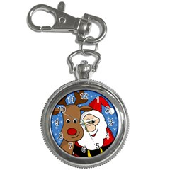 Christmas Selfie Key Chain Watches by Valentinaart