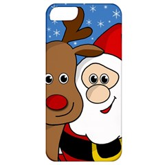 Christmas Selfie Apple Iphone 5 Classic Hardshell Case by Valentinaart