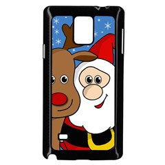 Christmas Selfie Samsung Galaxy Note 4 Case (black) by Valentinaart