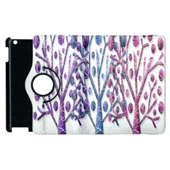 Magical Pastel Trees Apple Ipad 3/4 Flip 360 Case by Valentinaart