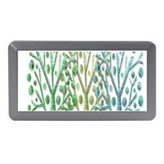 Magical Green Trees Memory Card Reader (mini) by Valentinaart