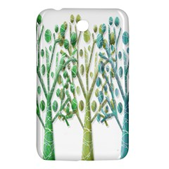 Magical Green Trees Samsung Galaxy Tab 3 (7 ) P3200 Hardshell Case  by Valentinaart