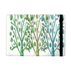 Magical Green Trees Ipad Mini 2 Flip Cases by Valentinaart