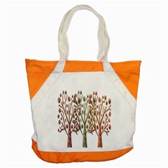 Magical Autumn Trees Accent Tote Bag by Valentinaart