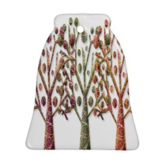 Magical Autumn Trees Bell Ornament (2 Sides)