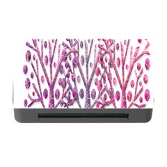 Magical Pink Trees Memory Card Reader With Cf by Valentinaart