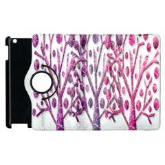 Magical Pink Trees Apple Ipad 3/4 Flip 360 Case by Valentinaart