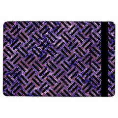 Woven2 Black Marble & Purple Marble (r) Apple Ipad Air 2 Flip Case by trendistuff