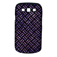 Woven2 Black Marble & Purple Marble Samsung Galaxy S Iii Classic Hardshell Case (pc+silicone) by trendistuff