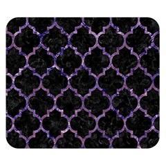 Tile1 Black Marble & Purple Marble Double Sided Flano Blanket (small) by trendistuff