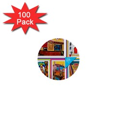 Picreations Vi 1  Mini Buttons (100 Pack)