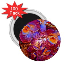 Floral Artstudio 1216 Plastic Flowers 2 25  Magnets (100 Pack)