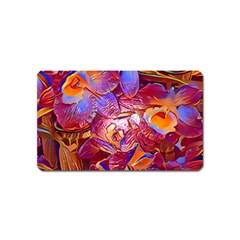 Floral Artstudio 1216 Plastic Flowers Magnet (name Card)