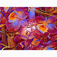 Floral Artstudio 1216 Plastic Flowers Canvas 18  X 24