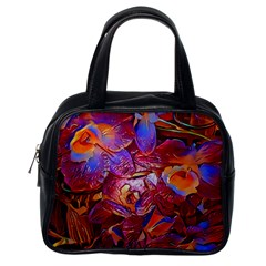 Floral Artstudio 1216 Plastic Flowers Classic Handbags (one Side)
