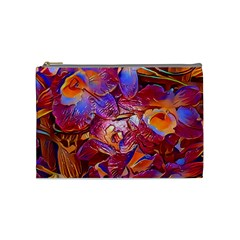Floral Artstudio 1216 Plastic Flowers Cosmetic Bag (medium)