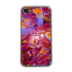Floral Artstudio 1216 Plastic Flowers Apple Iphone 4 Case (clear)