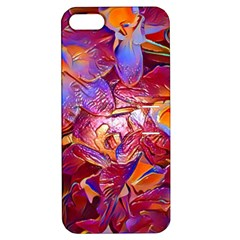 Floral Artstudio 1216 Plastic Flowers Apple Iphone 5 Hardshell Case With Stand