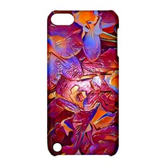Floral Artstudio 1216 Plastic Flowers Apple Ipod Touch 5 Hardshell Case With Stand