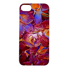Floral Artstudio 1216 Plastic Flowers Apple Iphone 5s/ Se Hardshell Case