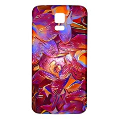 Floral Artstudio 1216 Plastic Flowers Samsung Galaxy S5 Back Case (white)