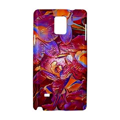 Floral Artstudio 1216 Plastic Flowers Samsung Galaxy Note 4 Hardshell Case by MoreColorsinLife