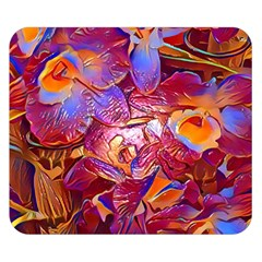 Floral Artstudio 1216 Plastic Flowers Double Sided Flano Blanket (small)