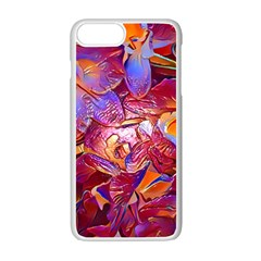 Floral Artstudio 1216 Plastic Flowers Apple Iphone 7 Plus White Seamless Case