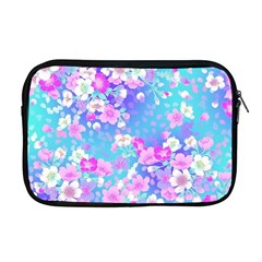 Colorful Pastel Flowers  Apple Macbook Pro 17  Zipper Case by Brittlevirginclothing