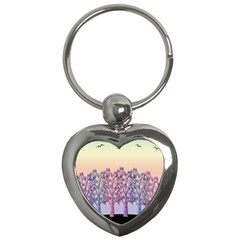 Magical Hill Key Chains (heart)  by Valentinaart