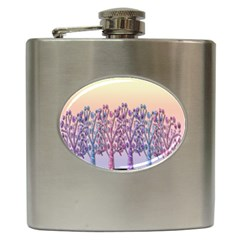 Magical Hill Hip Flask (6 Oz) by Valentinaart